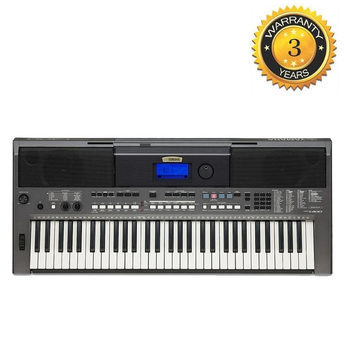 Yamaha PSR I400 61 Key Portable Keyboard with Touch Response Keybed