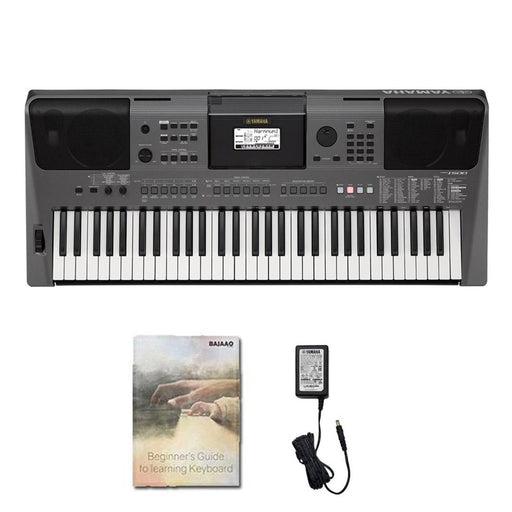 Yamaha PSR I500 61-Key Portable Keyboard with Power Adapter