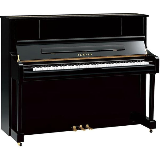 Yamaha U1J 88 Key Upright Piano with Bench - Polished Ebony