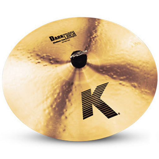 "Zildjian K0913 16"" K Dark Medium Thin Crash Cymbal"