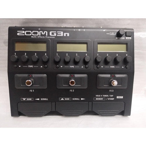 ZOOM G3n Intuitive Multi-Effects Guitar Processor - Open Box B Stock