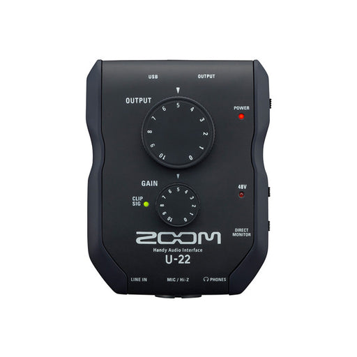 Zoom U-22 Handy Audio Interface - Black