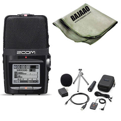 Zoom H2n Handy Portable Digital Audio Recorder Bundle