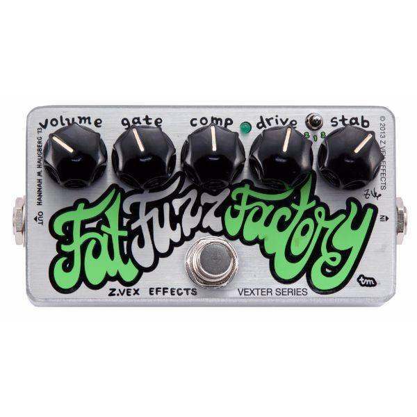 Zvex Effects Vexter Fat Fuzz Factory Guitar Effects Pedal