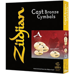Zildjian Cymbals A20579-11 A Custom Holiday Box Set