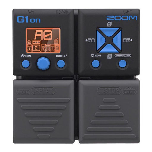 Zoom G1on Guitar Multi Effects Pedal