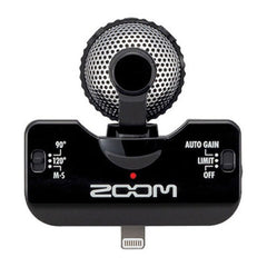 Zoom iQ5 Professional Stereo Microphone with Lightning Connector