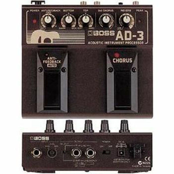 Boss AD-3 Acoustic Guitar Multi Effects Pedal