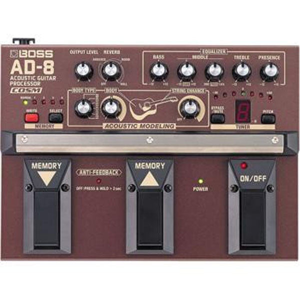 Boss AD-8 Acoustic Guitar Multi Effects Processor