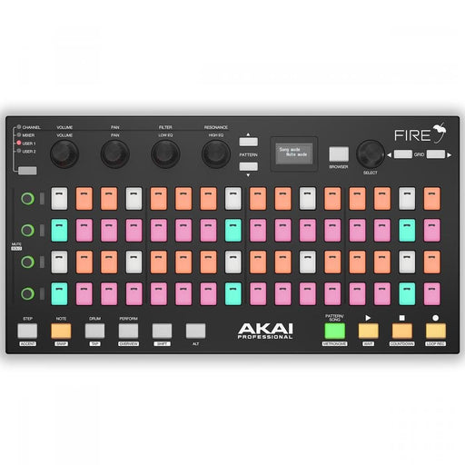 Akai Professional Fire Grid Controller Interface For Fl-Studio