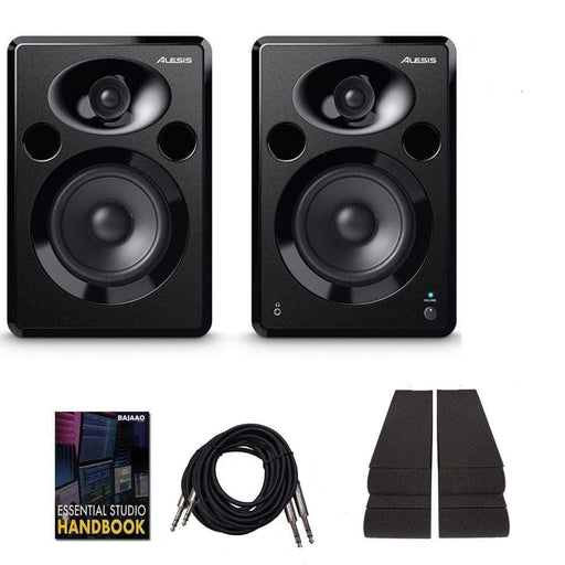 Alesis ELEVATE 5 MKII 5 inch Powered Studio Monitors with Isolation Pads, Cables, and Ebook  - Pair