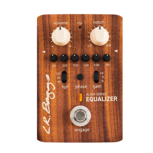 LR Baggs Align Series Equalizer 6-Band EQ Acoustic Pre-Amp Effects Pedal