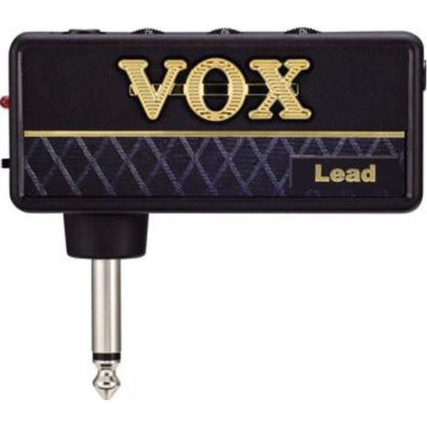Vox Amplug Lead Headphone Amp with Hi-Gain DIstortion + Delay