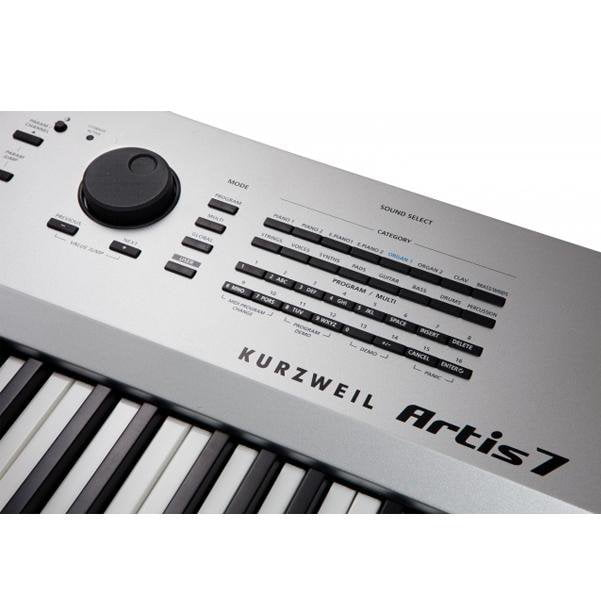 Kurzweil Artis 7 76-Key Digital Piano with Fatar Semi Weighted Action Keybed