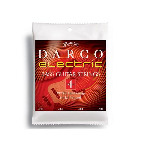 Martin Darco D9700L Electric Bass Guitar Strings - Nickel Wound, Longscale