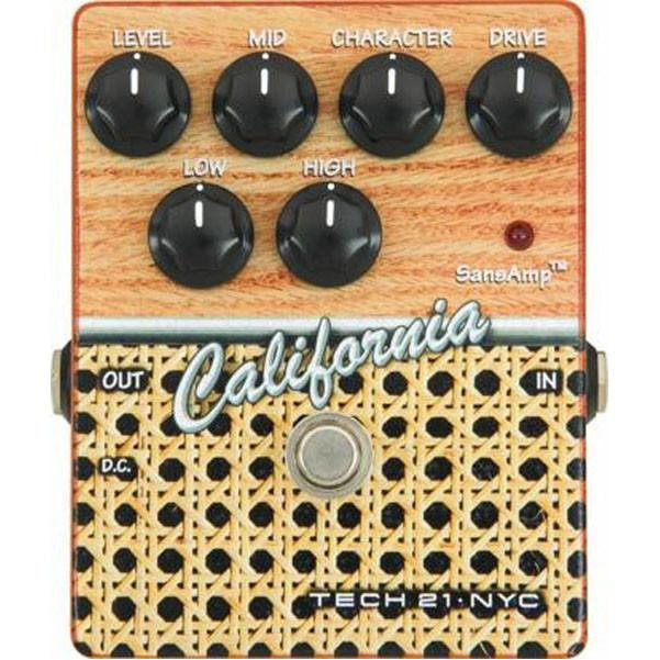 Tech 21 SansAmp Character Series California Distortion Pedal