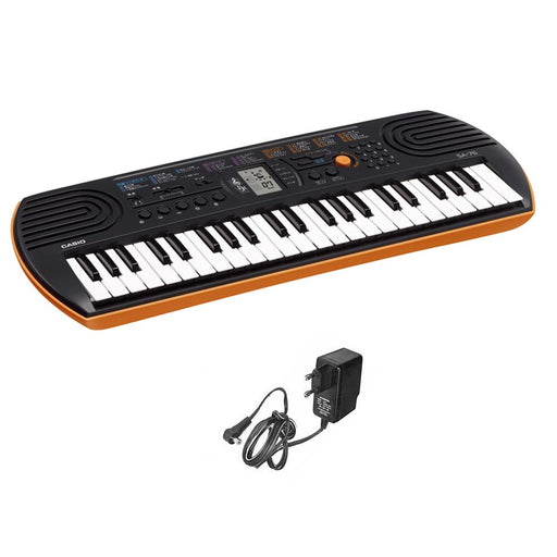 Casio SA76 44 Key Kids Mini Portable Keyboard With Adapter