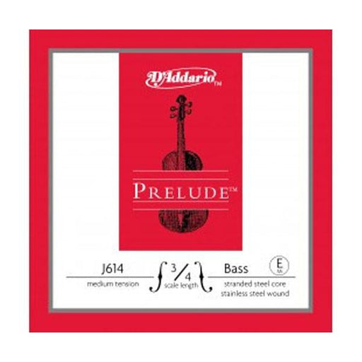 D'Addario Prelude Medium - E J614 3/4M Double Bass Strings