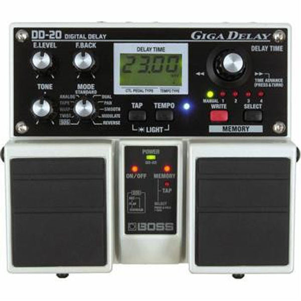 Boss DD-20 Giga Delay Guitar Effects Pedal
