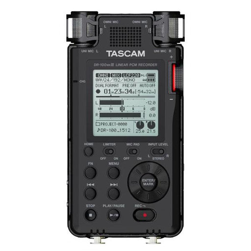 Tascam DR-100MK3 Stereo Portable Field Recorders