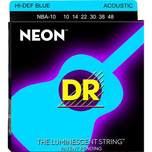 DR NBA-10 Acoustic Guitar Strings (10-48)