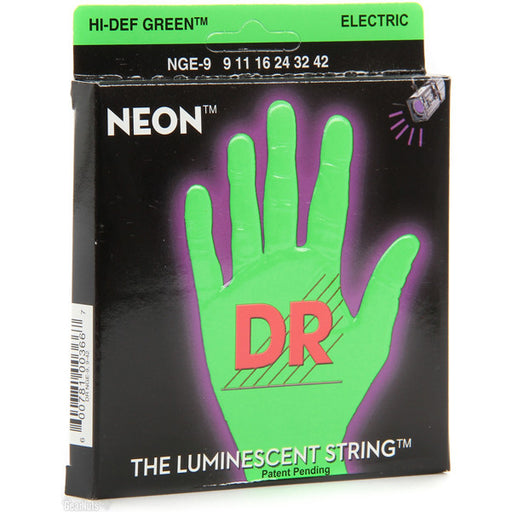 DR NGE-9 Electric Guitar Strings (9-42)