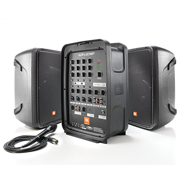 Buy jbl eon208p 8 channel portable pa system with for Bat box obi