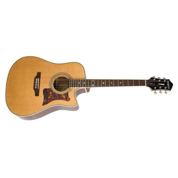 bajaao com buy epiphone masterbilt dr 500mce acoustic electric guitar natural online india. Black Bedroom Furniture Sets. Home Design Ideas