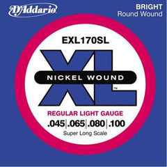 D'Addario EXL170SL  Soft Super Long Bass Strings