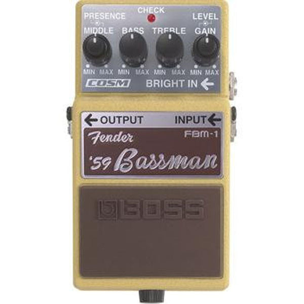 Boss FBM-1 Fender Bassman Bass Guitar Effects Pedal
