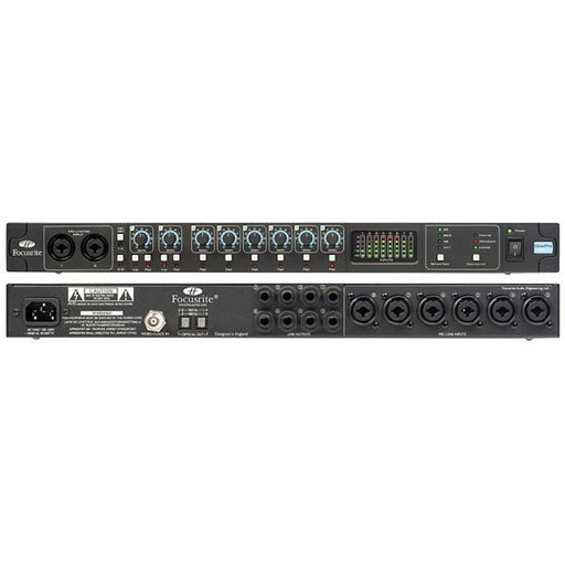 Focusrite Octopre MK2 Mic Preamp with 24bit 96kHz Digital Out