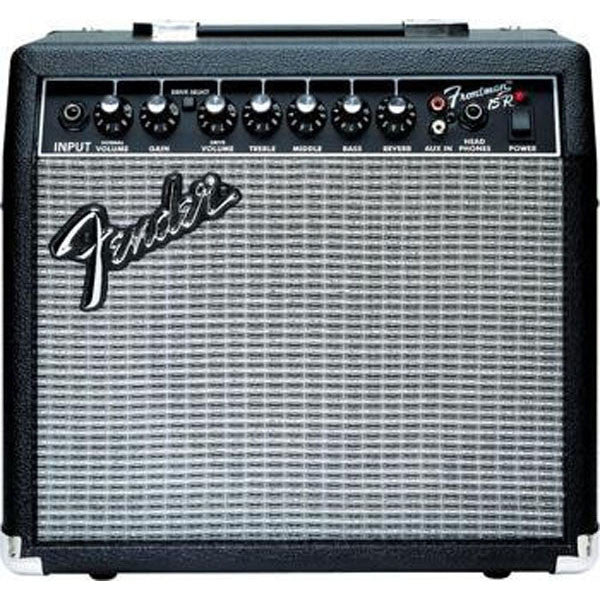 Fender 15R 15W Frontman Guitar Combo Amplifier with Reverb