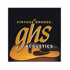 GHS VN-UL Acoustic Guitar Strings - Vintage Bronze, Ultra Light