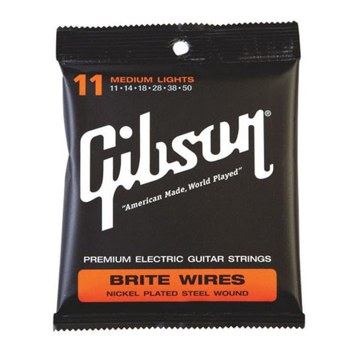 Gibson SEG-700ML Brite Wires (.011-.050) Electric Guitar Strings