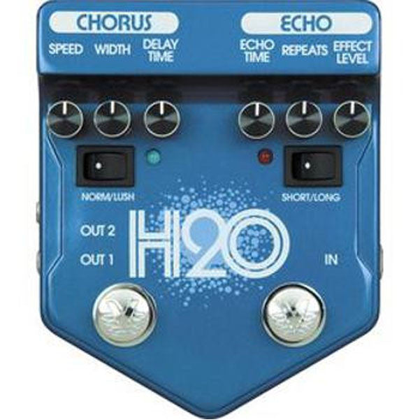 Visual Sound V2 Series V2H2O H2O Chorus and Echo Effect Pedal