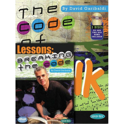 Hal Leonard Breaking The Code David Garibaldi Book/CD/DVD Combo Pack