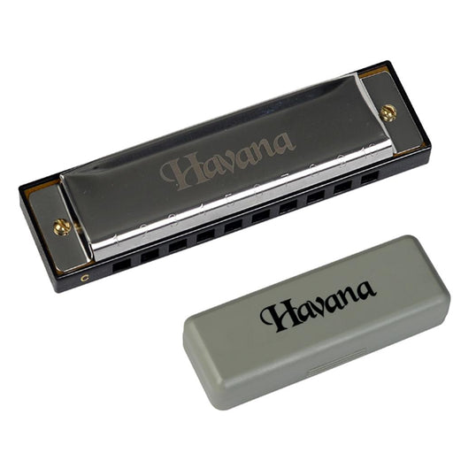 Havana DF10C Blues Harmonica - C Scale