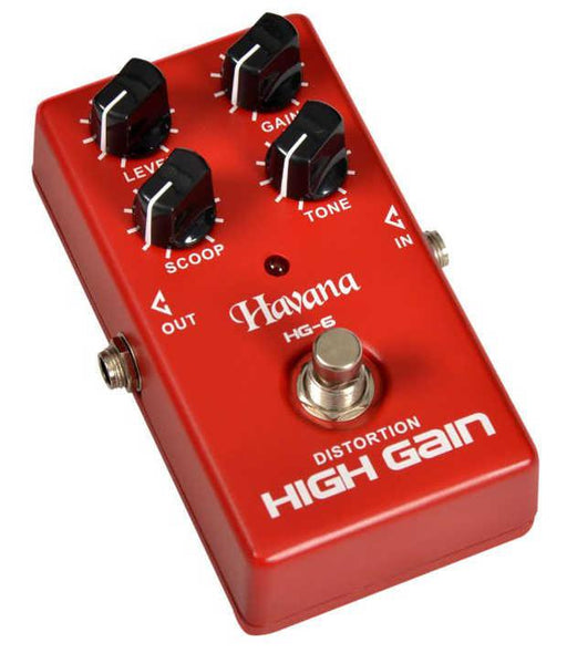 Havana HG6 High Gain Pedal for Guitars - Open Box