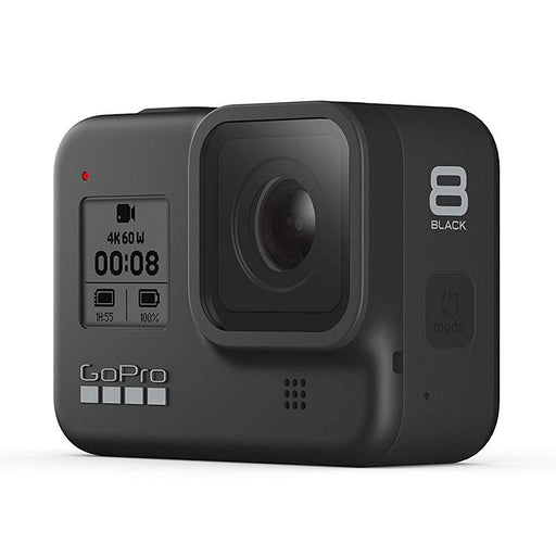 GoPro Hero 8 Hypersmooth Streamlined 4k Action Camera - Black with 2 Year Warranty