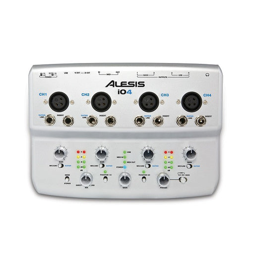Alesis iO4 4-Channel, 24-Bit Recording Audio Interface