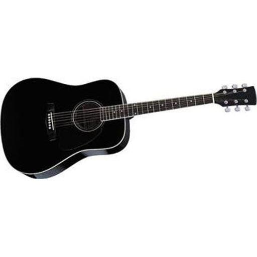 Pluto HW41-201 Jumbo Acoustic Guitar - Black - Open Box