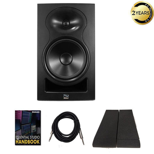 Kali Audio LP 8 Active Near-Field Studio Monitor with Isolation Pads, Cables and Ebook - Single Unit