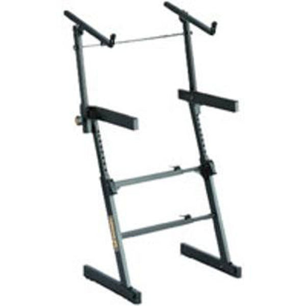 Hercules KS410B Z-Stand Double Tier Keyboard Stand with Autolock