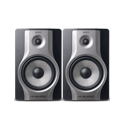 M-Audio BX8 Carbon Studio Monitors for Music Production & Mixing - Pair