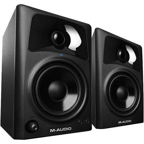 M-Audio AV42 20-Watt Desktop Multimedia Speakers with 4-inch Woofers