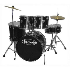 Mapex TNM5254TCUDK Tornado 5 Pcs Drum Set - Black -Open Box