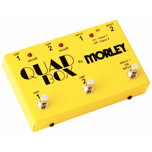 Morley Quad Box Guitar and Amp Selector/Combiner