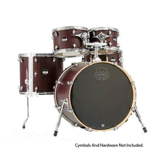 Mapex MA529SFRW Mar Series 5 Piece Rock Shell Pack - Bloodwood Finish
