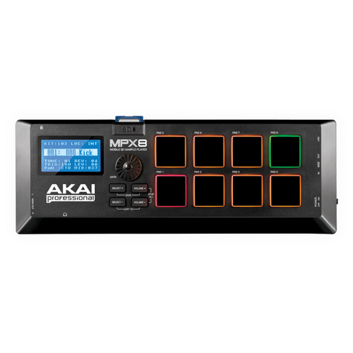 Akai MPX8 SD Sample Pad Controller - Open Box