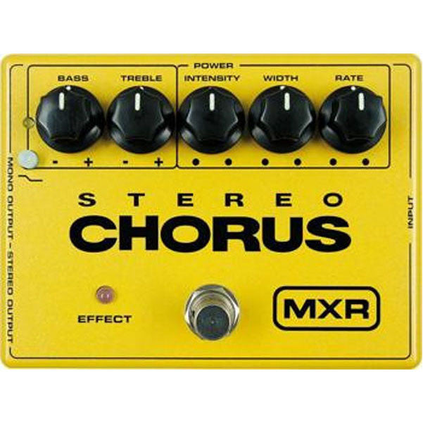 Dunlop MXR Stereo Chorus M134 Effects Pedal  Made in USA